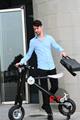 Yeni patent katlanır e scooter pil, 35km/h, 2- tekerlekli elektrikli scooter
