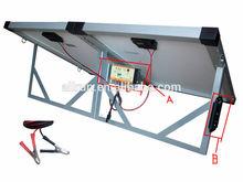 2014 High efficiency portable 120w folding solar panel