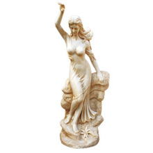 Custom FRP modern woman sculpture Woman Sculptures in Guangzhou