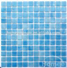 Glass tile round mosaic