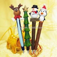 2014 Hottest Promotional Chrismas Gifts Cartoon Shining Ballpoint Pen