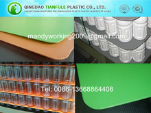 With or Without Seal Edges Corrugated Plastic Pallet Pads