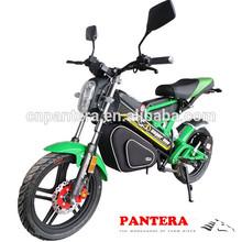 PT-E001 EEC 1500w Motor Low Price Light Weight Folding Electric Motorbike