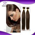 Venta al por mayor baratos 100% humano remy extensión del pelo