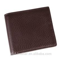 8056C Top grade Coffee Fashion Genuine Leather Men's Wallet Clutch Bag