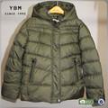 2014 venta caliente capa de niñas capas de relleno para los niños en invierno
