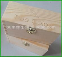Lasered-logo Wooden Gift Box