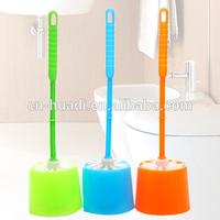 toilet bowl scrub brush and holder set HD5528
