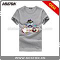 Koston Branding 180g baumwollstoff t- shirt mit Mode Rezepturen ktc15-b