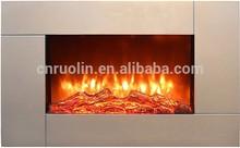luxury Wall mounted MDF Electric Fireplace