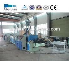 plastic pvc edge band making machine production line