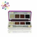 Md132 Natural 4 colores de sombra de ojos profesional de cosméticos de color