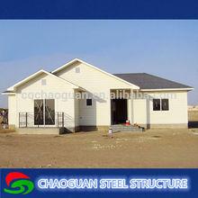 Light steel frame structure prefabricated modular villa