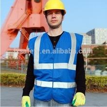 Blue High Visibility Vest