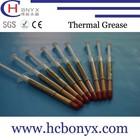 High quality heatsink thermal conductivity 1g Slender silicone adhesive