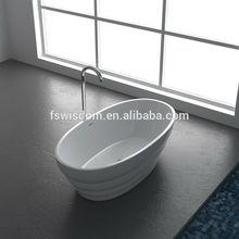 New Italian Design Freestanding Acrylic Bathtub WD6030