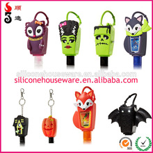 Bath and Body Works Antibacterial 29ml Hand Sanitizer Halloween Theme Silicone Rubber PocketBac Holders