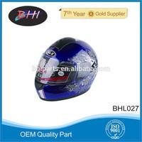 full face kids plastic motorcycle helmet from BHI motorcycle parts