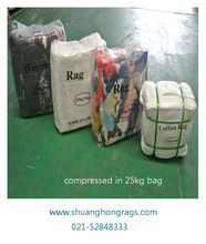 china cheap cleaning used clothing rags
