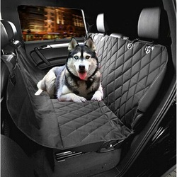 Deluxe Quilted Waterproof Pet Car Seat Cover