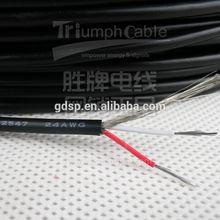 300v ul 2547 pvc multi-conductor shield cable awm wire
