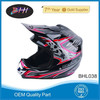 China manufacture full face fashion motorcycle helmet from BHI motorcycle parts