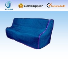 cheap 100%polyester blue sofa cover