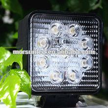 new sxs hot 4x4 27w car led tuning light, led 27w work light, auto led work lamp 27w