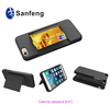 Credit Card Holder Stand Hybrid Hard Shell Silicone Skin Case for iphone 6 Plus