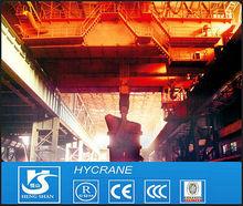 QDY Type 5~100T Double Girder Hook Bridge/Overhead traveling/Overhead/Eot casting bridge crane