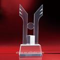 Guarigione!!! Di fascia alta due alato trofeo di cristallo materiale