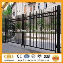 Alibaba China 2015 hot search beautiful /cheap/2x4/4x4 models of gates and iron fence(Anping,China)