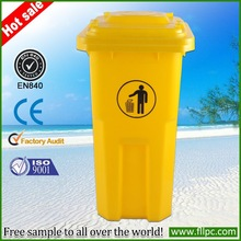 2014 Hot sale promotinal 100% HDPE good quality cheap price useful household/ outdoor plastic dustbin
