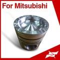 Taiwan pistón Mitsubishi S6R2 piezas del motor diesel