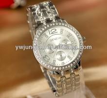 Quartz Watch Luxury Diamond Watch
