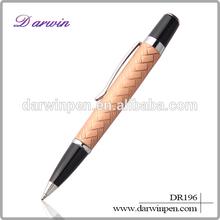 Trade Assurance custom logo fat metal ballpoint pen wholesale