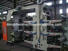 6 Colors Plastic film Flexographic Printing Machine