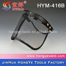 CE standard wire mesh safety helmet safety face shield visor