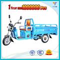 Chine corps ouvert cargo tricycle électrique, 60v 800w trois roues de vélo électrique, approuvé par ccc alimenté par batterie auto- rickshaw