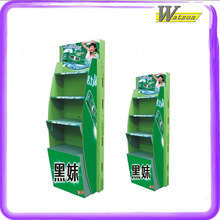 promotion and supermarket advertising 4 shelf bottled beverage corrugated computer retail shops