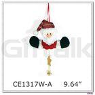 santa design christmas hanging ornament
