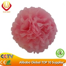 2015 colorful paper tissue pompoms for wedding decoration or parties