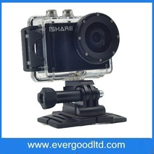 High Quality S602 iSHARE New Waterproof Sports Outdoor Diving 1080P DV Camera to Report
