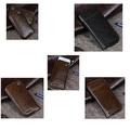 Wholesale Top layer gunuine leather smart phone case cover
