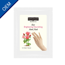 Pirvate label Good Quality and Competitive Price Rose Brightening Nourishing Hand Mask