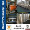 OEM high quality self adhesive bopp tape jumbo roll