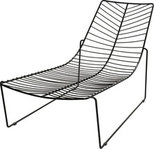 leisure wire chaise Arper Leaf Chaise Longue wire lounge beach chair/lounge