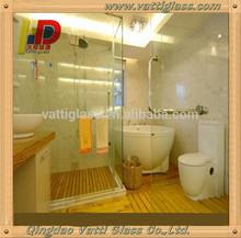 2014 New Design Modern bathroom sliding glass door,Tempered Glass for Sliding Glass Door