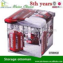 modern ottoman, faux leather ottoman pouf , PVC sex furniture ottoman