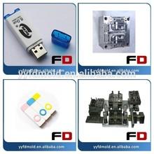 USB Plastic Shell Mold,USB Pen Drive Plastic Case,Plastic USB Stick
